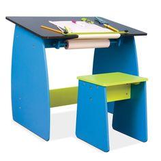 Table à dessin pour enfant avec tabouret   DeSerres