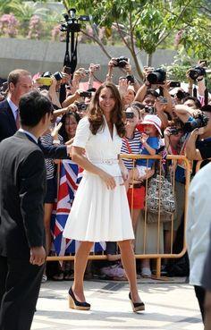 Kate Middleton Photos - Will and Kate in Singapore 5 - Zimbio