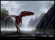 carcharodontosaurus | the first fossils of carcharodontosaurus were discovered in 1927 by ...
