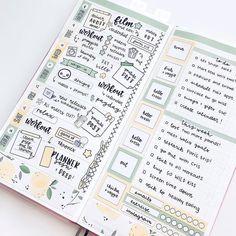 Bullet Journal Banner, Bullet Journal Ideas Pages, Bullet Journal Inspiration, Bullet Journals, Journal Art, Planner Tips, Planner Layout, Free Planner, Mini Happy Planner