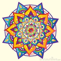 Mandala by Azazelka, via Dreamstime