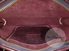 Vintage Coach Compact Slim Satchel Brief Burgundy Plum Leather EUC NYC #9425 | eBay Vintage Coach, Michael Kors Jet Set, Plum, Compact, Zip Around Wallet, Satchel, Burgundy, Leather, Bag