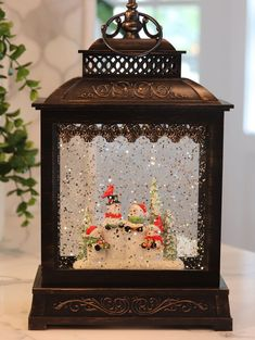 11 Inch Musical Snowmen Carolers Lighted Snow Globe Battery Operated with Timer - 2428570 Christmas Lanterns, Christmas Music, Christmas Tag, Christmas Decorations, Xmas, Christmas Ideas, Craft Projects, Projects To Try, Musical Snow Globes