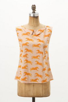 Different Stripes Blouse #anthropologie family affairs