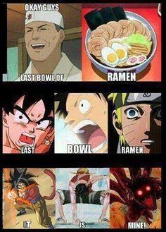Anime and ramen