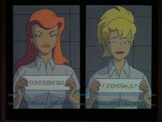 Pamela Isley Harleen Quinzel ~ Batman: The Animated Series