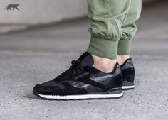 Reebok Classic Leather Clip Tech (Black / White)