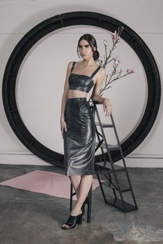 Latex Pencil Skirt | Hanger | Shop | NOT JUST A LABEL