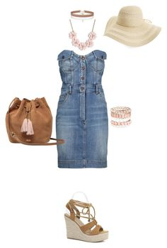 """""""Untitled #8871"""" by erinlindsay83 ❤ liked on Polyvore featuring Moschino, Fits, UGG, Miss Selfridge, J.Crew and Avenue"""