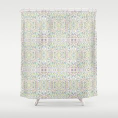Roadways Shower Curtain by Mcbee Threads - $68.00 Customize your bathroom with a unique, geometric Shower Curtain designed by Me, Mcbee!