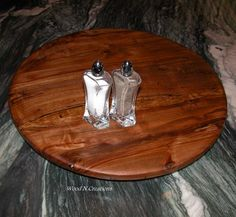 Lazy Susan Wooden Home Decor Turntable Board By WoodNCreations, $60.00