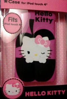 iPod Touch 4 Hello Kitty Hard Plastic  Case...   #HelloKitty