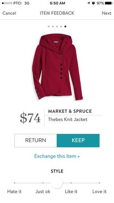 If it's not too heavy this would be nice. Love the red but grey, camel or a heathered oatmeal color would be nice