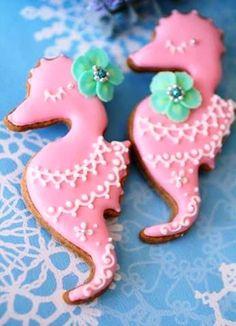 Ippocampo (seahorse) Cookies