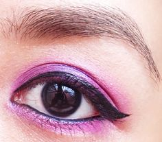 Radiant Orchid Makeup