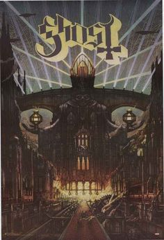 A great poster of the album cover for Meliora by the Swedish heavy metal band Ghost! Fully licensed - 2016. Ships fast. 24x36 inches. Need Poster Mounts..? su7272 sc3272