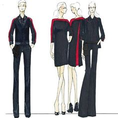aviation uniforms concept designs