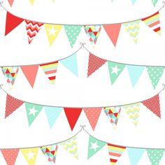 Färgglad #barntapet från kollektionen Everybody Bonjour 138717. Klicka för att se fler #inspirerande #tapeter för ditt hem!