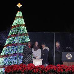 Encendido del árbol de Navidad en la Casa Blanca