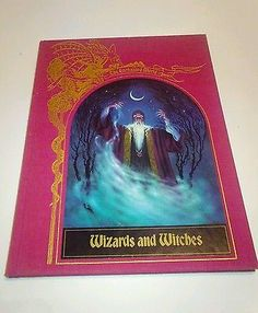 The Enchanted World Wizards and Witches vintage hardcover book