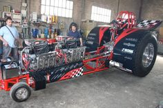 Modified Pulling Tractor For Sale | Tractor Pulling Online - Pullingworld.com