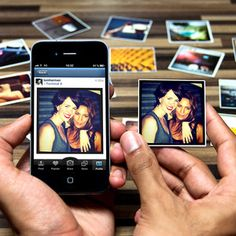 StickyGram....personalized Instagram images turned into cool little Magnets.