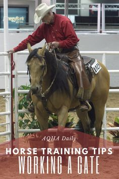 Learn how to safely open and close gates from horseback.