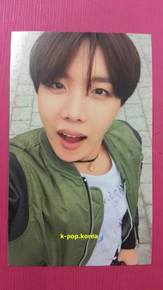 BTS J-HOPE Official Photo Card 4th Album IN THE MOOD FOR LOVE Photocard ITMFL 호석