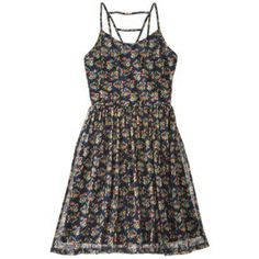Xhilaration® Junior's Strappy Back Fit & Flare Dress - Assorted Colors