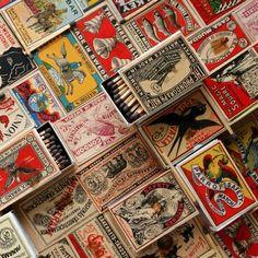 Matchbox Art | Vintage matchbox art #art #japan #vintage #retro | Japan (other)