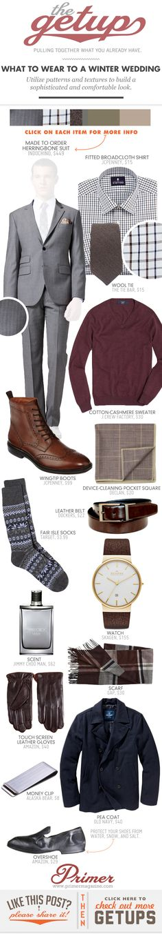 The Getup: What to Wear to a Winter Wedding - Primer