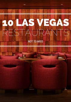 10 Las Vegas restaurants.