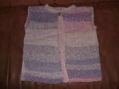 Strickjacken & Cardigans - Strickweste für Mädchen Gr. 98/104 - ein Designerstück von Sonja07 bei DaWanda