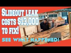 RV Daily Tips Issue 531. December 23, 2014   RV Travel  --Video Tip of the Day  --In this video, Valley RV Supercenter's Chris Nelson shows the horrible damage that resulted from a leak in a Class C motorhome's slideout