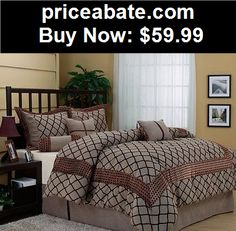 Bedding: Dawn Luxury 7pc Comforter Set bed-in-a-bag NEW - BUY IT NOW ONLY $59.99