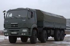kamaz 63501 (army truck)