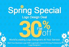 LogoGuts offers Spring Logo Design Sale, Flat 30% off. Want a decent and interactive logo design for your business? Get in touch with our team of expert logo designers at LogoGuts and avail 30% dis...
