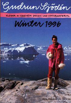 Gudrun Sjödén Catalogue - Winter 1996