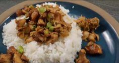 Sauce Teriyaki, Crockpot, Chicken Recipes, Grains, Recipies, Food And Drink, Rice, Simple, Teriyaki Chicken