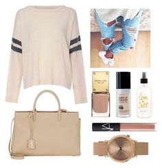 """""""Long weekend bliss"""" by jessicaanne-xx on Polyvore featuring Glamorous, Yves Saint Laurent, NARS Cosmetics and Topshop"""