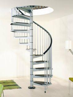 Escalier moderne pour petit espace