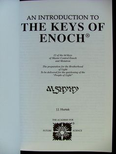 30 best enoch images on pinterest ancient aliens book and bible an introduction to the keys of enoch j j hurtak 9780960345076 amazon fandeluxe Gallery