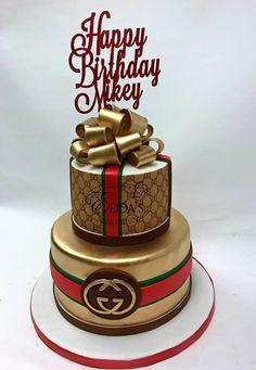 men cake ideas birthdays & men cake ` men cakes birthday ` men cake ideas ` men cake ideas birthdays ` men cakes birthday simple ` men cakes birthday creative ` men cake designs ` men cakes birthday funny ideas for women 30th Birthday Cake For Women, 13 Birthday Cake, Adult Birthday Cakes, Birthday Gifts, Sister Birthday, Birthday Cards, Bolo Gucci, Gucci Cake, Chanel Cake