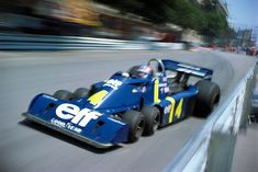 Patrick Depailler, Tyrrell six wheeler Formula One  #f1  #formula_one  #formula_1  #formula1  #senna  #ferrari  #mclaren  #lotus  #williams  #red_bull  #schumacher  #prost  #mansell  #mercedes  #grand prix  #senna