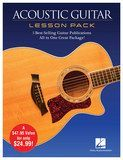Hal Leonard - Acoustic Guitar Lesson Pack Instructional Book Collection - Multi
