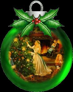 A Green Christmas Ball