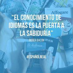 Aprende a hablar español y te volverás más sabio  #EspañolReal
