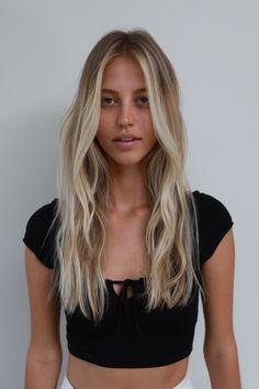 Light Blonde Hair, Blonde Hair Looks, Dark Hair, Short Hair Ombre Brown, Brown Hair, Red Hair, Californian Hair, Balayage Hair Ombre, Blonde Highlights
