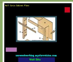 How To Build A Corner Curio Cabinet 215431 - Woodworking Plans and ...