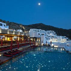 Flames in the moonlight! #nofilter #MyconianAvatonResort #myconiancollectionhotels #top #luxury #resort
